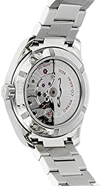 Omega Men's 'Seamaster150' Swiss Automatic Stainless Steel Dress Watch, Color:Silver-Toned (Model: 23110392103002)