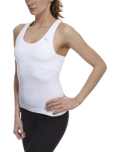 Puma Women's Active Tank Top- White, Size 10