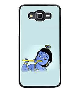 printtech Lord God Krishna Small Cartoon Back Case Cover for Samsung Galaxy Grand 3 G720::Samsung Galaxy Grand Max G720
