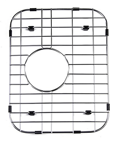 Alfi Brand Gr4019 Small Solid Kitchen Sink Grid, Stainless Steel