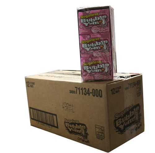 bubble-yum-sugarless-gum-original-12-count-package-master-case-of-12