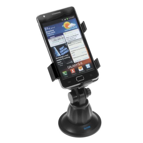 iKross Car Windshield Mount Holder for Cell Phone, MP3, Windows, Android, Mobile Phone, Smartphone, Blackberry, Apple iPhone 4s