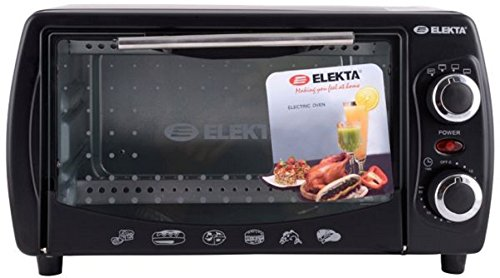ELEKTA 9-Litres 1000-Watt Grill Oven Toaster (Black) OTG