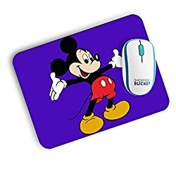 Shoppers Bucket Mickey Mouse Mousepad (FREE SHIPPING)