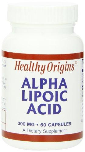 海外直送品Alpha Lipoic Acid, 300MG, 60 Caps by Healthy Origins