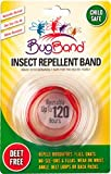 Bugband Wristband Insect Repellent (Color May Vary)