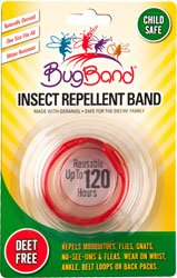 Bugband Wristband Insect Repellent (Color May Vary) front-26065