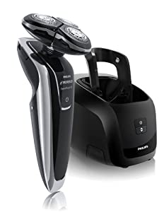 Philips Norelco 1280X/47 SensoTouch 3D Electric Razor  with Jet Clean System, Frustration Free Packaging (Series 8000)