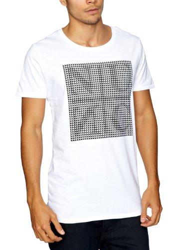NUNC Gowyn Logo Men's T-Shirt White Medium