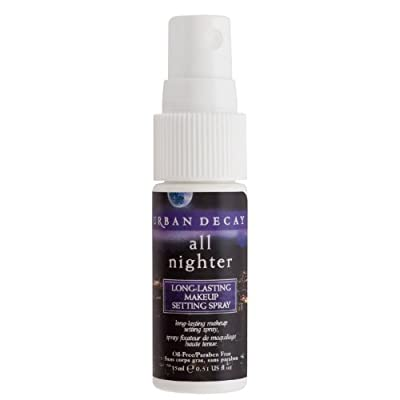 Urban Decay All Nighter Long Lasting Makeup Setting Spray, .50 oz. NEW