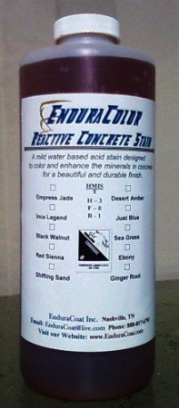 EnduraColor Reactive Concrete Stain - 1 Quart