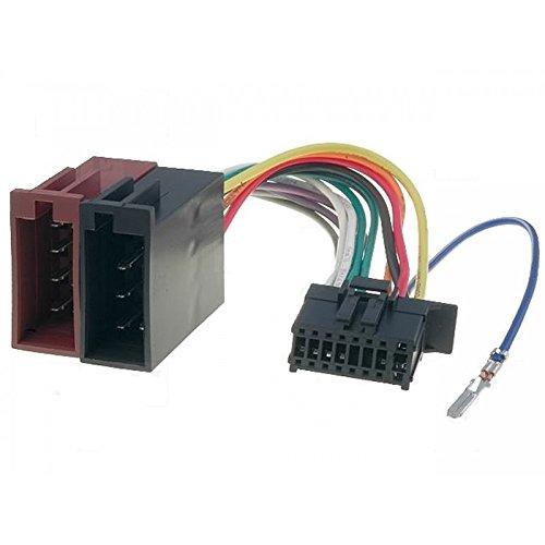 Fascio cavi connettori ISO Pioneer autoradio 16 pin, nuovi modelli dal 2010