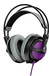 SteelSeries Siberia 200 Gaming Headset - Sakura Purple (formerly Siberia v2)