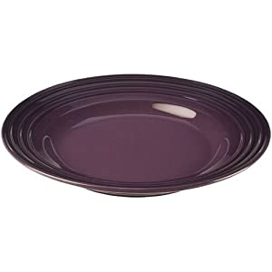 Le Creuset Stoneware 12-Inch Dinner Plate, Cassis