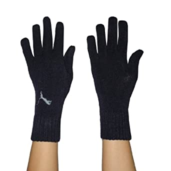 Amazon.com: Puma Womens Knitted Stretchy Gloves Medium Royal Blue