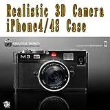 Realistic 3D Camera iPhone4/4S Case A-BK BLACK RCI4A/BK