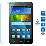 Azzil Tempered Glass 2.5D Curved Edge 9H Hardness Screen Protector For Huawei Y560