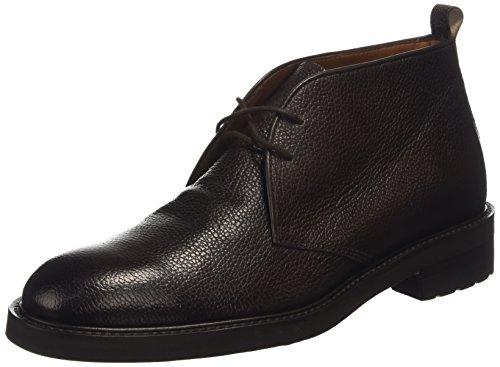 Lottusse LOTTUSE BALTIMORE L6707, Stivali classici imbottiti a gamba corta uomo, Marrone (Braun (GRAIN-CRUST MOKA)), 43.5