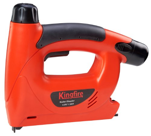 Kingfire 4.8-Volt Brad Nailer/Stapler Qddc8514