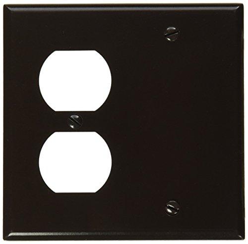 leviton-85008-2-gang-1-duplex-1-blank-device-combination-wallplate-standard-size-thermoset-box-mount