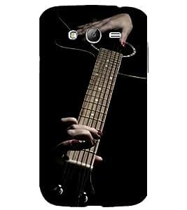 printtech Music Girl Guitar Back Case Cover for Samsung Galaxy Grand i9080 / Samsung Galaxy Grand i9082