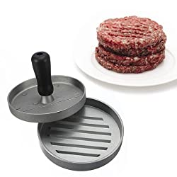 New Kitchen Hamburger Press Meat Patty Mold Maker 12cm/4.8inch