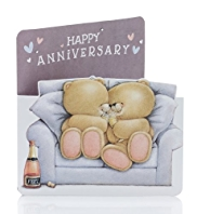 Forever Friends™ Couple Sofa Anniversary Card