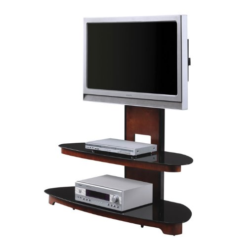 Cheap Dark Cherry Flat Panel TV Stand with Mount (TV2350DC)
