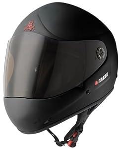 Triple 8 Racer II Black Full Face Downhill Longboard Helmet Size S M by Triple 8