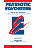 Patriotic Favorites - Value Pak - (37 Part Books/Conductor/CD) - EE