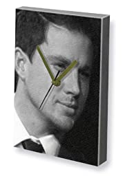 CHANNING TATUM - Canvas Clock (LARGE A3 - Signed by the Artist) #js001