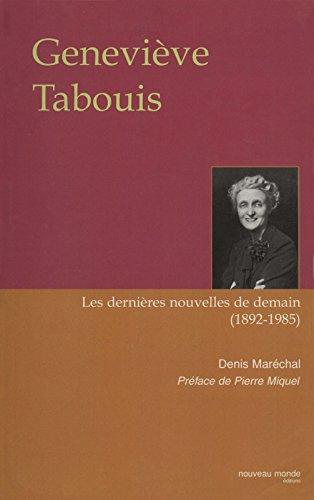 Geneviève Tabouis