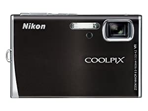 Nikon Coolpix S52 9MP Digital Camera Zoom with 3x Optical Vibration Reduction Zoom (Midnight Black)