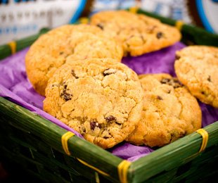 Kosher Gourmet Oatmeal Raisin 40 Cookie Gift