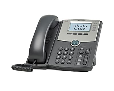 Cisco SPA514G 4-Line IP Phone with 2-Port Gigabit Ethernet Switch, PoE, and LCD Display by Cisco
