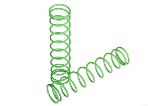 Traxxas 3757A Springs Green Rear, Grave Digger, 2-Piece