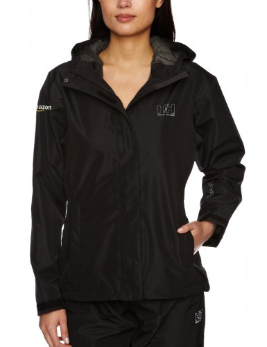 Amazon Gear Helly Hansen Women's Seven J Rain Jacket, Black, Small