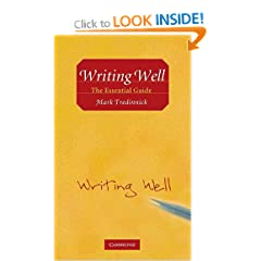 Image: Cover of Writing Well: The Essential Guide