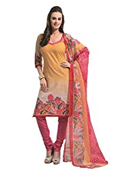 Design Willa Cotton Dress Material Saree (DW0278)