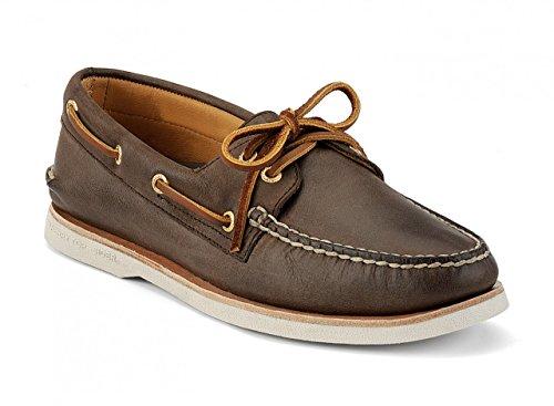 Sperry Top-Sider Scarpe da barca da uomo in pelle A/O Gold, Schuhgrößen_EU:44 / 10.5