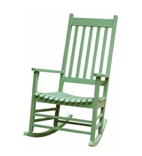 Wood Porch Rocker front-1020171