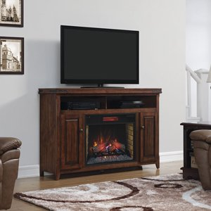 Classicflame Mayfield Infrared Electric Fireplace Media Console In Cherry - 28Mm9644-X332