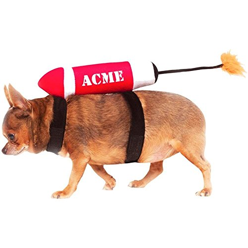 Acme Rocket Ship Dog Costume