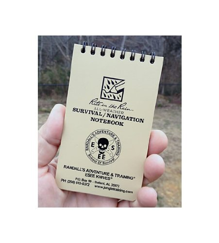 Esee Rite In The Rain Survival / Nav Notepad
