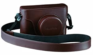 Fujifilm LC-X100 Leather Case for Finepix X100 Digital Camera - Brown