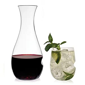 Govino Shatterproof 28 oz Wine Decanter And 16 oz Glass Set by Govino