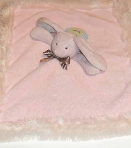 Blankets & Beyond Pink Bunny Super Soft Nunu