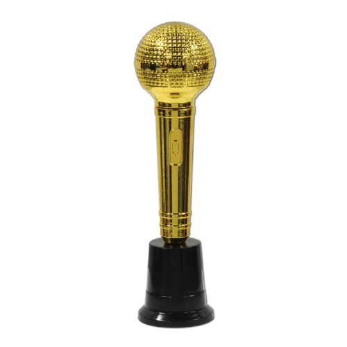 Beistle 57380 6-Pack Microphone Award