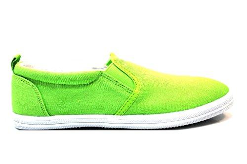 Trussardi Jeans 79S046 Verde Mocassini Donna Scarpa Sportiva