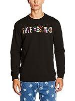 Love Moschino Sudadera (Negro)